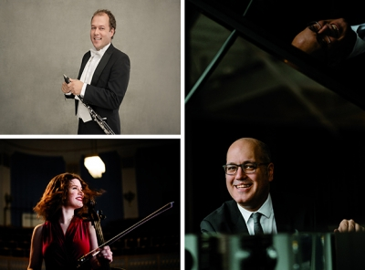 Tibor Reman (© Peter Adamik), Julia Hagen (© Julia Wesely), Gottlieb Wallisch (© Robert Rieger/The New York Times)